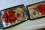 Продам хромированные задние фонари ВАЗ 2110. 2112